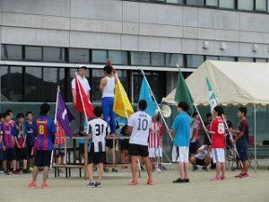 校内体育大会(1日目:開会式)