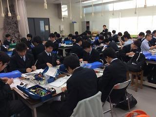 電気情報科 第二種電気工事士試験の結果